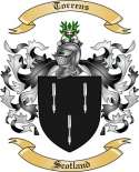 Torrens Family Crest from Scotland2