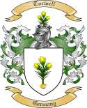 Torwell Family Crest from Germany