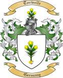 Torwelle Family Crest from Germany