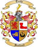 Toshe Family Coat of Arms from Scotland