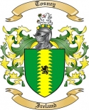 Tosney Family Coat of Arms from Ireland