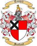 Totehill Family Coat of Arms from Scotland
