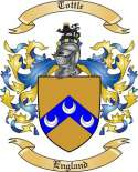 Tottle Family Crest from England2