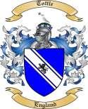 Tottle Family Crest from England