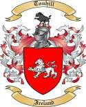 Touhill Family Crest from Ireland