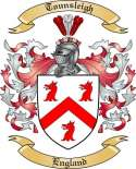 Tounsleigh Family Coat of Arms from England
