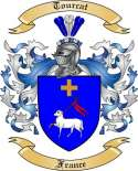 Tourcat Family Crest from France