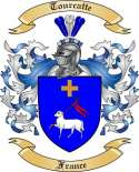 Tourcatte Family Coat of Arms from France