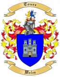Toure Family Crest from Wales