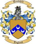 Toutehill Family Crest from England2