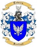 Towers Family Coat of Arms from Scotland