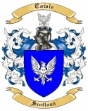 Towie Family Crest from Scotland