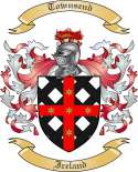 Townsend Family Crest from Ireland