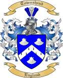 Townshend Family Coat of Arms from England2