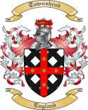 Townshend Family Coat of Arms from England