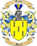 Trabe Family Crest from Spain