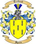 Trabend Family Crest from Spain