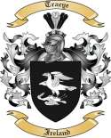 Tracye Family Crest from Ireland