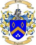 Tralie Family Crest from England