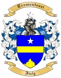 Tramantozzi Family Crest from Italy