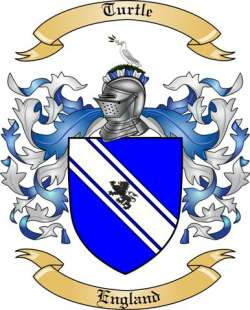 Turtle Family Crest From England By The Tree Maker