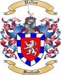 Uallas Family Crest from Scotland2