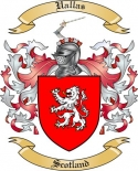 Uallas Family Crest from Scotland