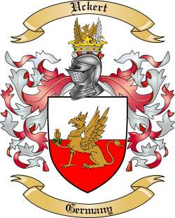 Uckert Family Coat of Arms from Germany
