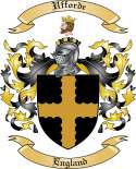 Ufforde Family Coat of Arms from England
