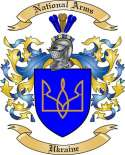 Ukraine Family Coat of Arms from Ukraine
