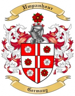 Umpanhour Family Coat of Arms from Germany