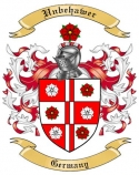 Unbehawer Family Crest from Germany