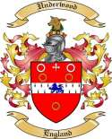 Underwood Family Crest from England