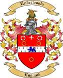 Underwoode Family Coat of Arms from England