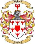 Uphold Family Crest from England