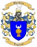 Upshire Family Crest from England2