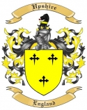 Upshire Family Crest from England