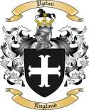 Upton Family Crest from England