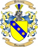 Urbanes Family Coat of Arms from Germany2