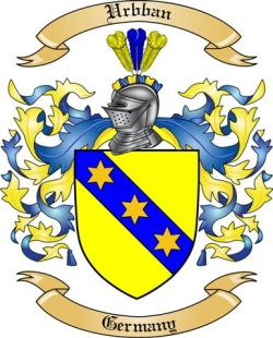 Urbban Family Crest from Germany2