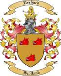 Urchard Family Crest from Scotland