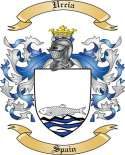 Urcia Family Crest from Spain