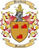 Urquhard Family Crest from Scotland