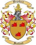 Urquhart Family Coat of Arms from Scotland