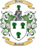 Urwin Family Crest from Scotland