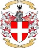 Uva Family Crest from Italy