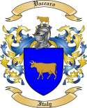 Vaccaro Family Coat of Arms from Italy