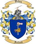 Vahey Family Coat of Arms from Ireland