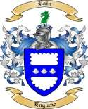 Vain Family Crest from England