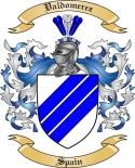 Valdomerez Family Crest from Spain